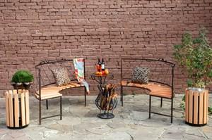 Комплект кованой мебели фото