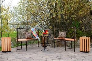 Мебель кованая для дачи 7958