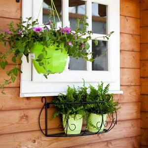 Подвесной кронштейн для цветов фото