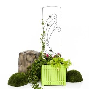 Кованая шпалера для растений