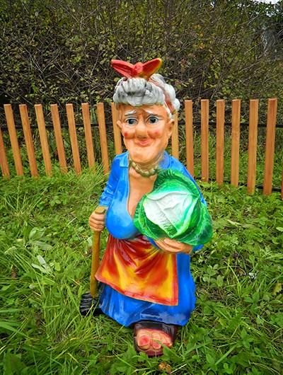 Садовая фигура Теща