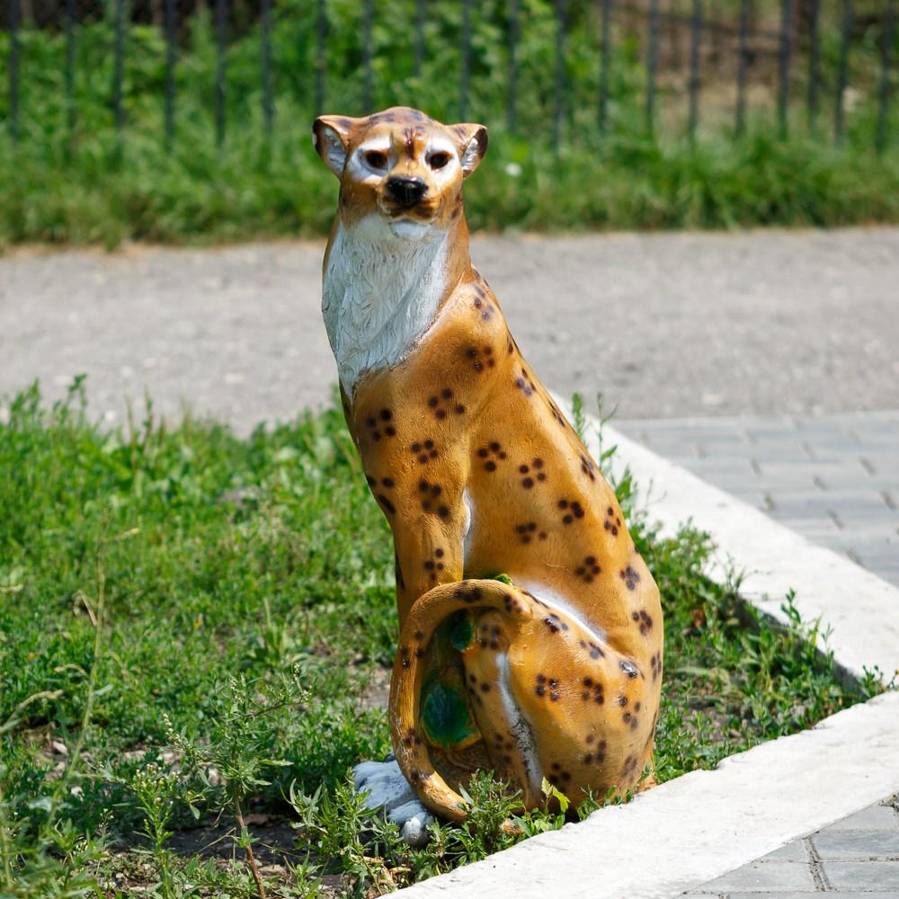 Cадовая фигура Леопард