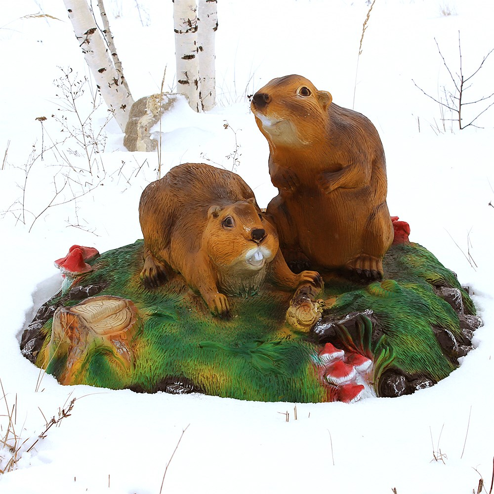 Укрытие на зиму для люка Бобры