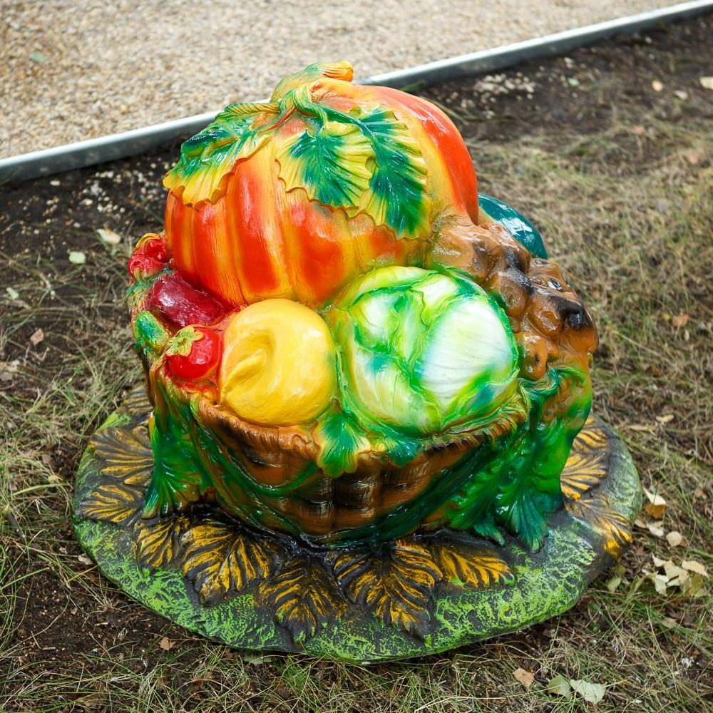 Садовый декор - крышка люка