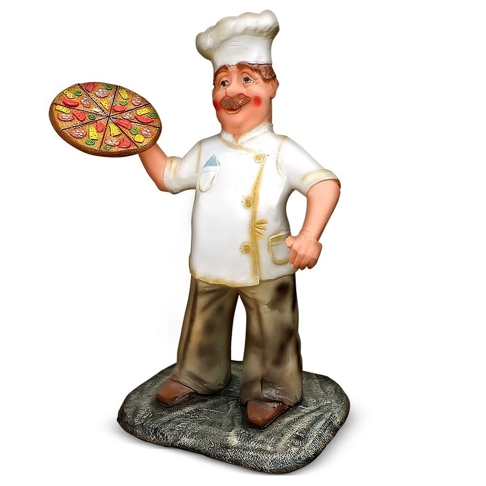 Фигура Повар с пиццей