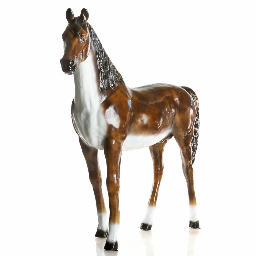 Фигура садовая Конь