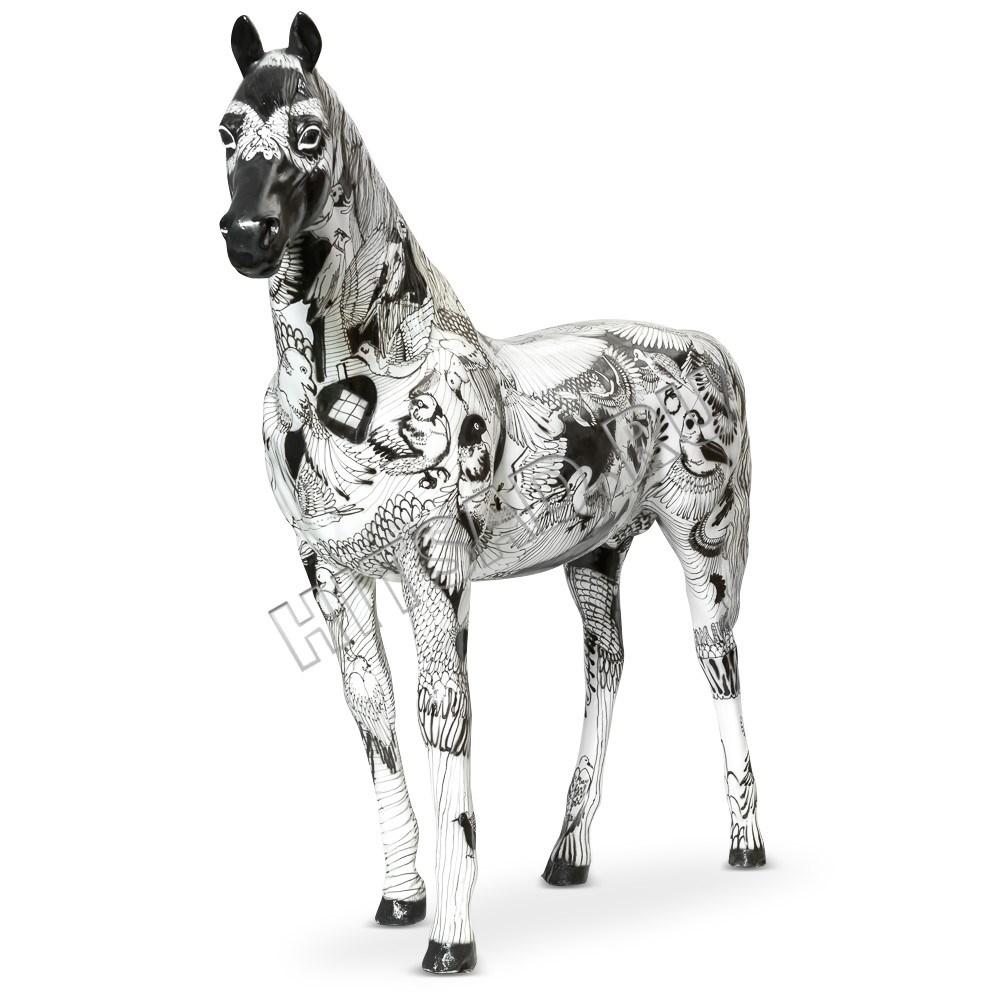 Садовая фигура Конь большой - фото 28751