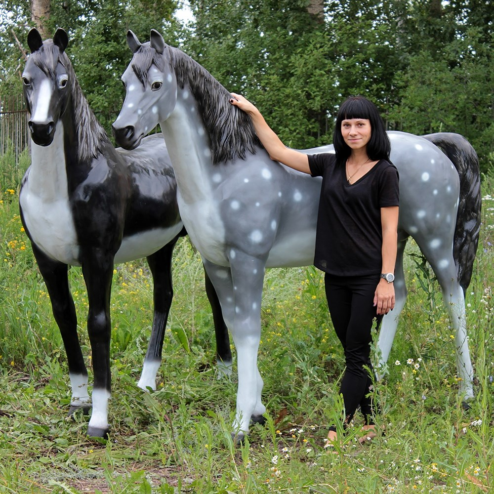 Садовая фигура Конь большой - фото 31410