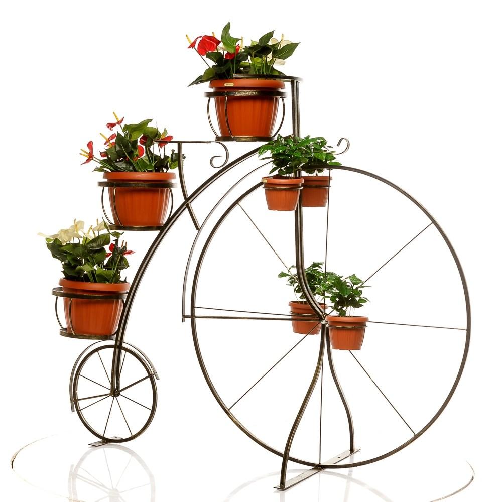 Декоративный велосипед для дачи