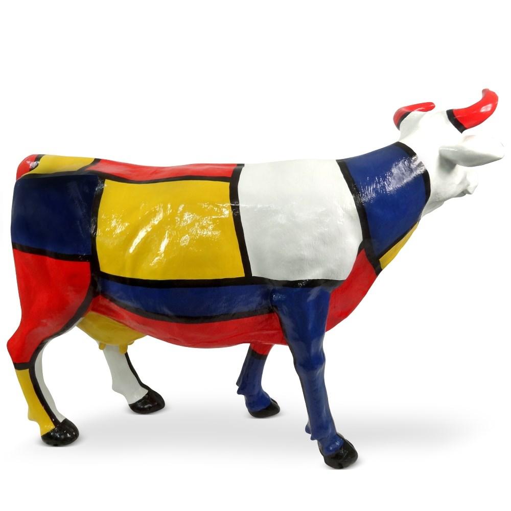 Садовая фигура Корова большая - фото 33603