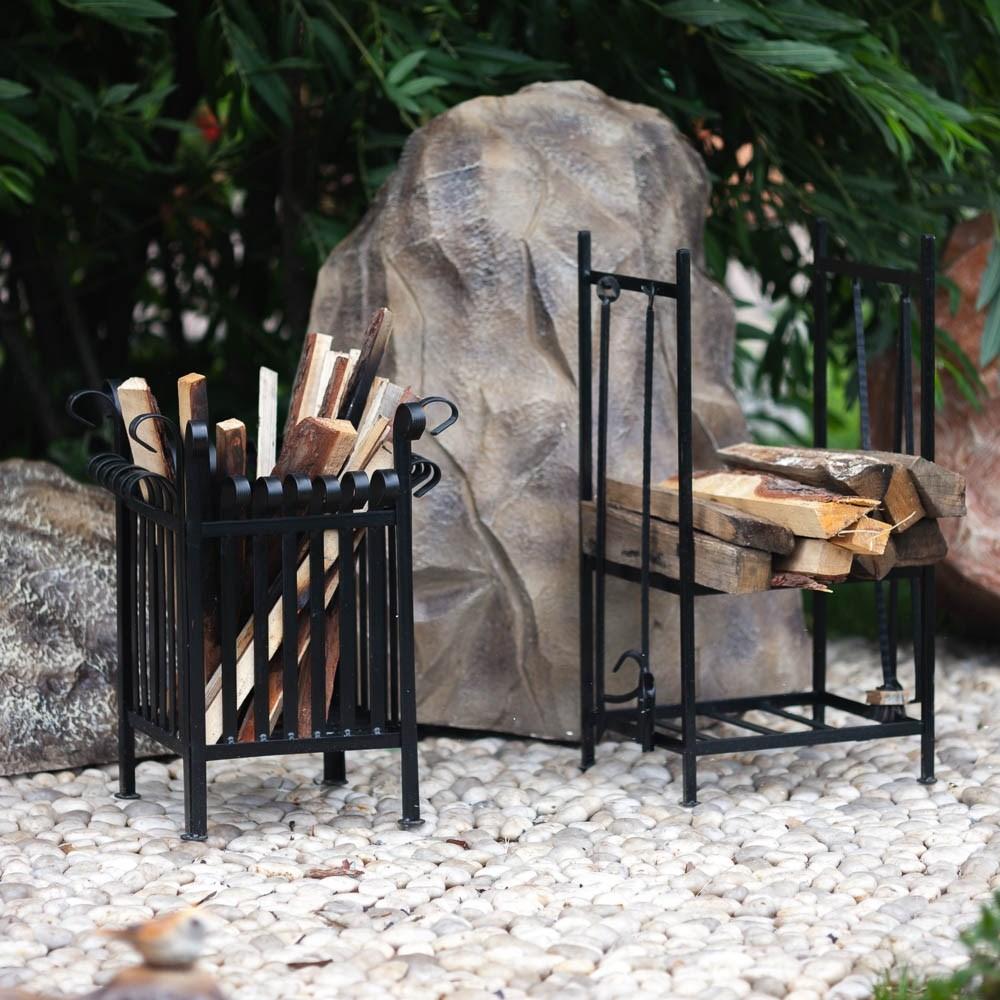 Уличный камин кованый