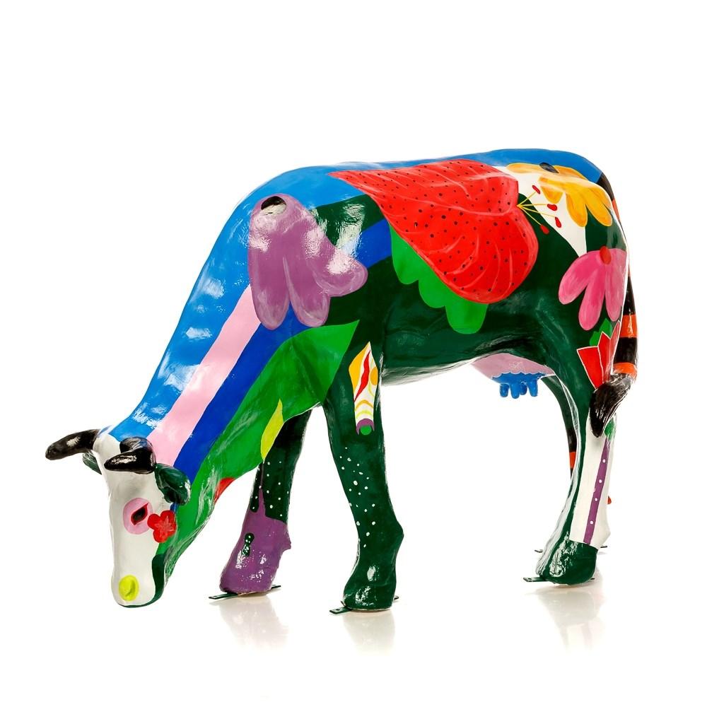 Фигура для дачи большая Корова - фото 37076