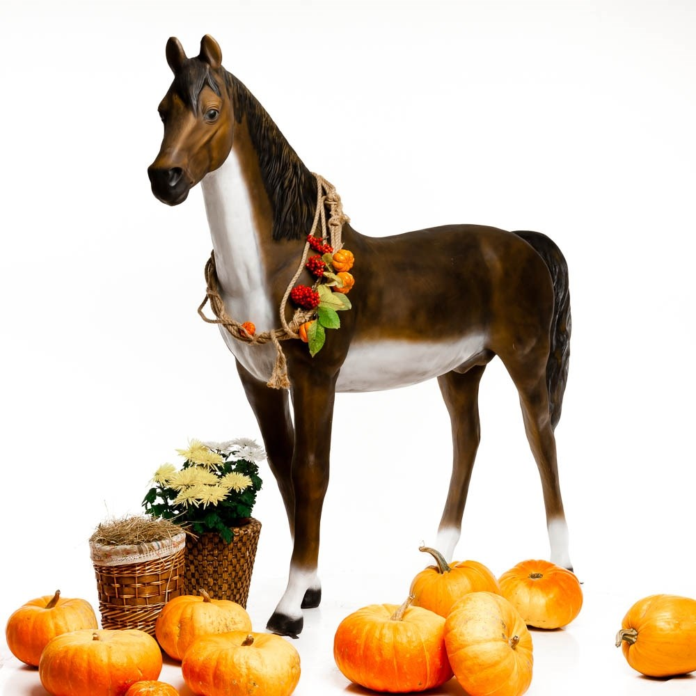 Садовая фигура Конь большой - фото 39908