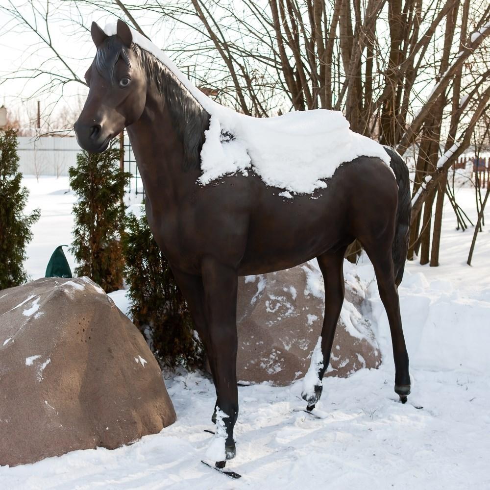 Садовая фигура Конь большой - фото 52945
