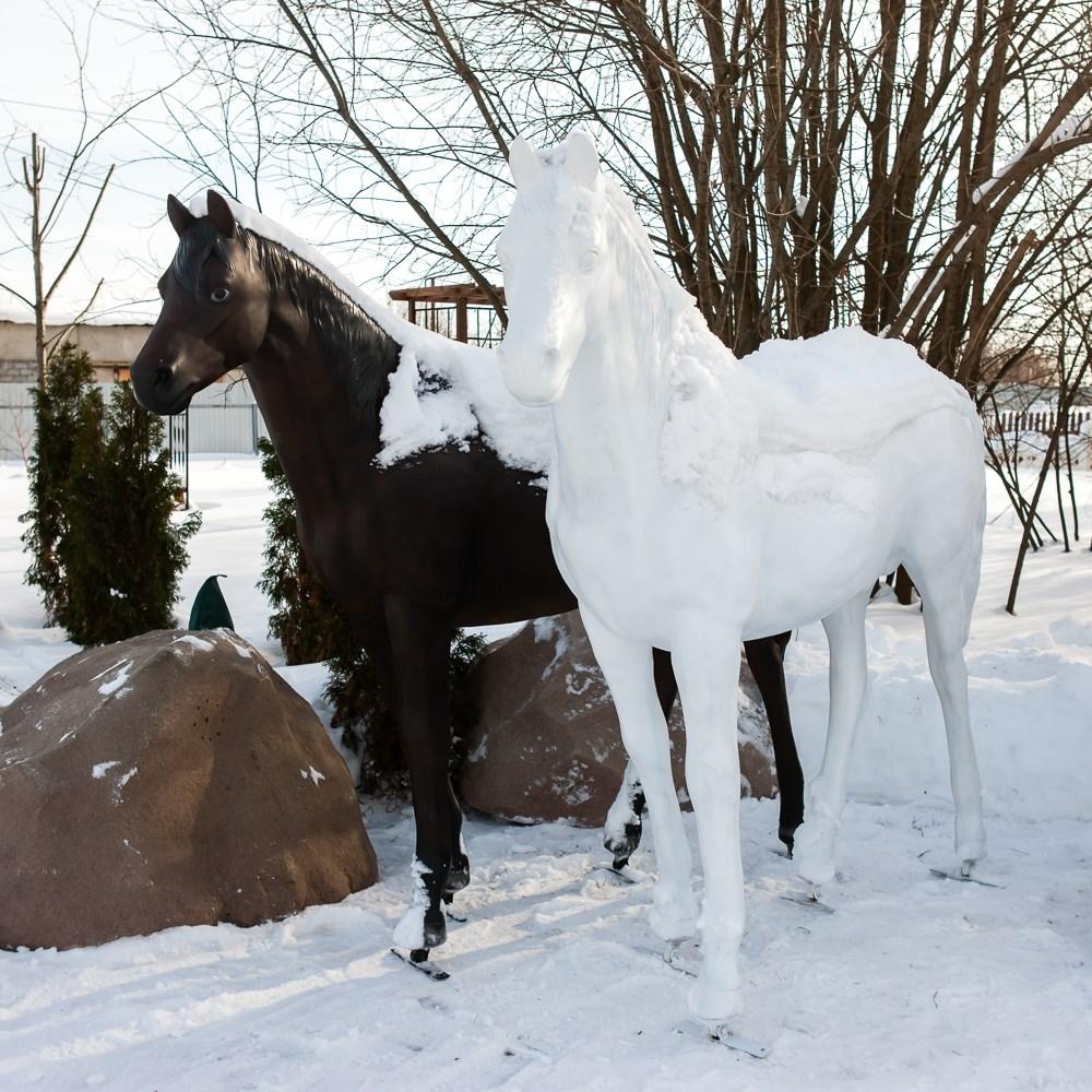 Садовая фигура Конь большой - фото 52946
