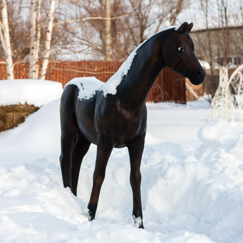Садовая фигура Конь большой - фото 52947