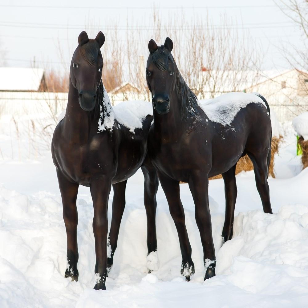 Садовая фигура Конь большой - фото 52949
