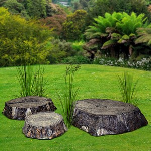 Комплект садовых фигур Пеньки