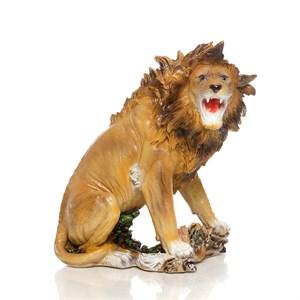Садовая фигура Лев рычит