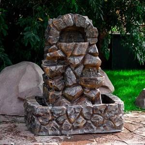 Декоративный фонтан камень