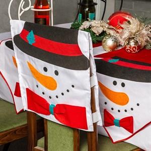 Чехол на стул новогодний