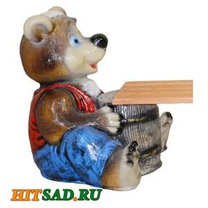Медведь с бочкой