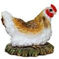 Декоративная фигура Курица в гнезде - фото 14152