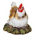 Декоративная фигура Курица в гнезде - фото 14153