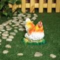 Курица в гнезде фигура для сада