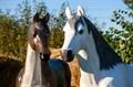 Садовая фигура Конь большой - фото 38982