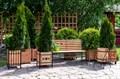 Деревянная кадка - фото 47165