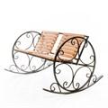 Кованая кресло качалка